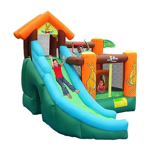 Castillos inflables Tobogán para Niños Niños Gran Parque De ...