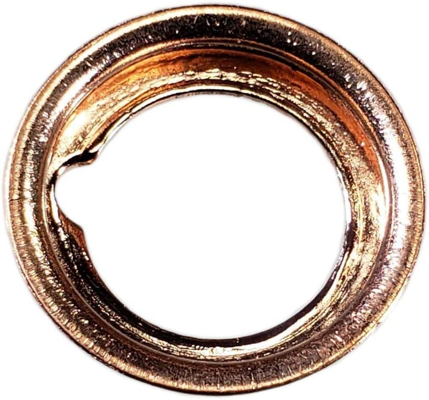Buy Auto Supply # BAS03561 I.D: 11mm // O.D: 17.2mm 50 Pack M12 Copper Crush Washer Oil Drain Plug Gasket Aftermarket part Fits in Place of 097-134 11026-01M02 /& More