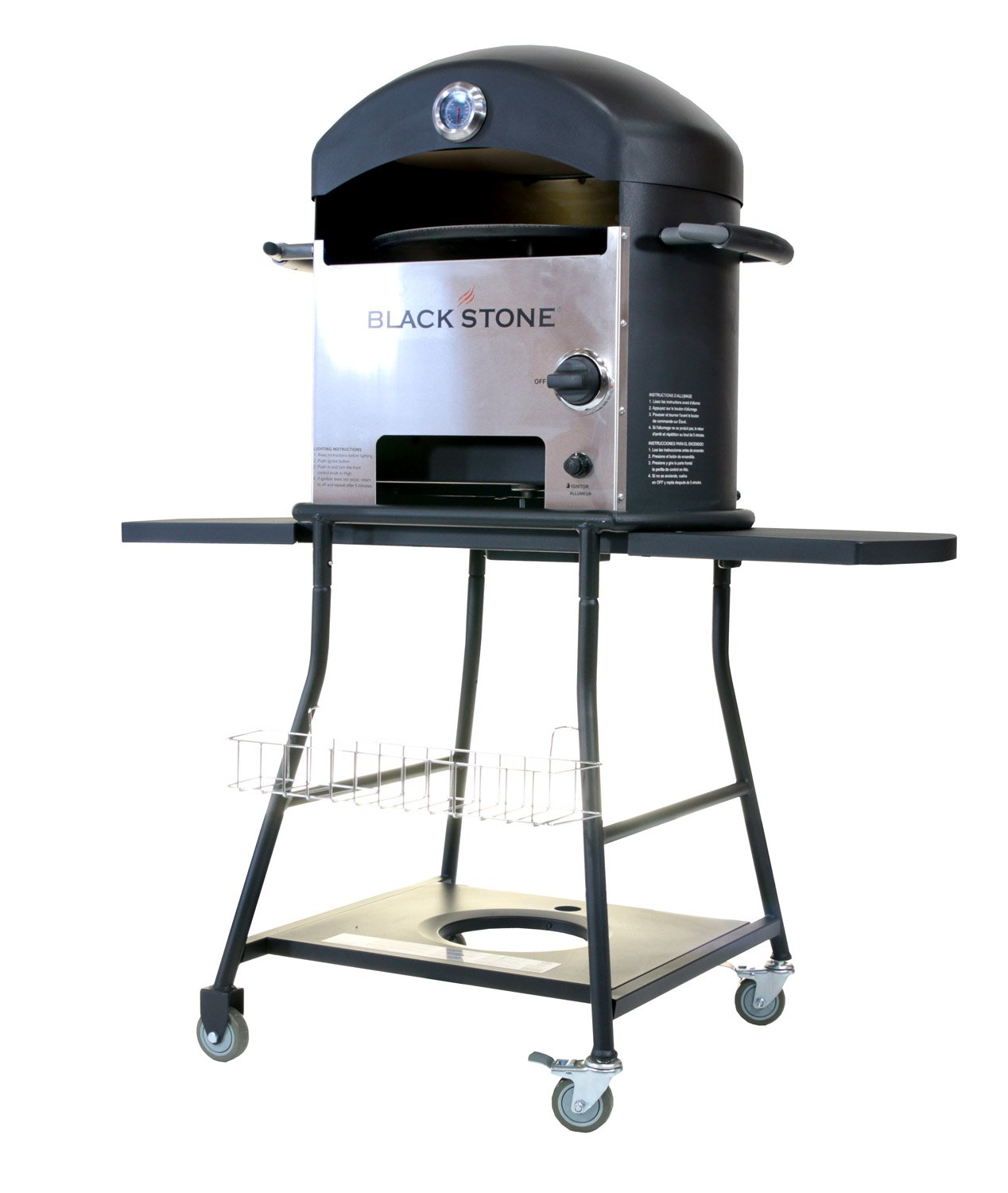 amazon com blackstone outdoor pizza oven for outdoor cooking