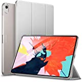 ESR Case for iPad Pro 11 inch 2018 Release[All-Screen][Apple Pencil Charging not Supported] Lightweight Smart Case, Trifold Stand, Microfiber Lining, Hard Back Cover, Compatible with The Apple iPad Pro 11 inch (2018 Release), Grey