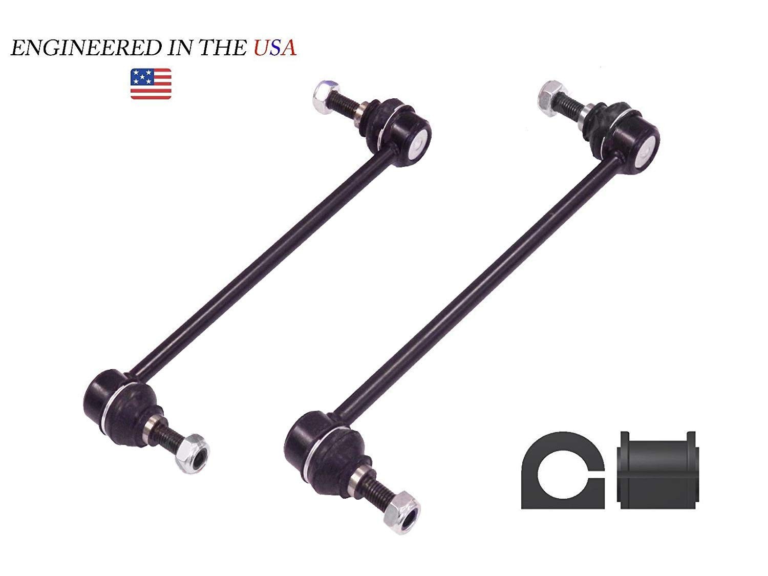 Suspension Dudes 4PC Front Sway Bar Links for Ford Mustang 05-10 GT//Convertible K80899 BUSHINGS