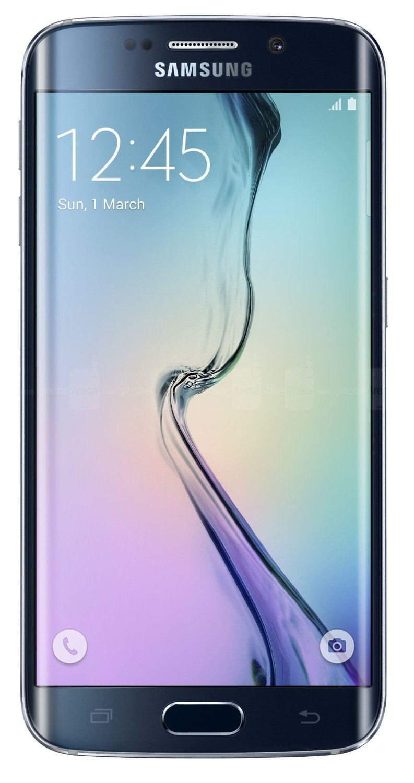 Samsung Galaxy S6 Edge G925I Unlocked Phone - Retail Packaging - Black Sapphire