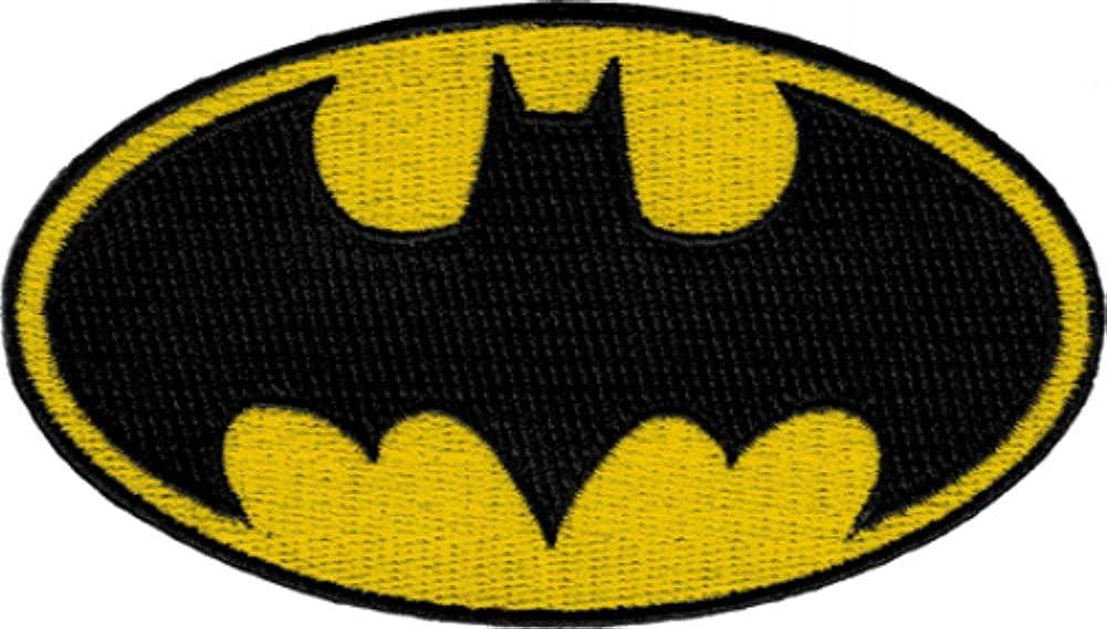 Batman Dark Knight DC Comics Movie Classic Bat Logo Iron On Applique Patch DC08   B007ONERA0