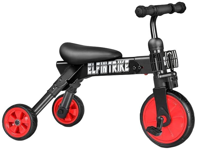 besrey triciclo 3 en 1 bebé & niños Glide & plegable ...