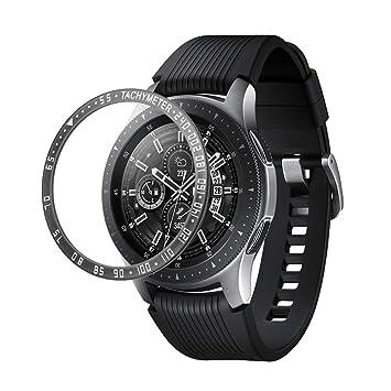 BATHRINS - Anillo de Bisel para Samsung Gear S3/Galaxy Watch de 46 ...