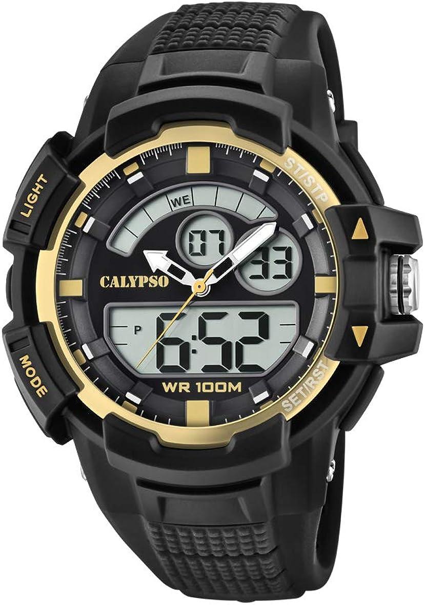 Calypso Watches Reloj Analógico-Digital para Unisex Adultos de Cuarzo con Correa en Plástico K5767/4