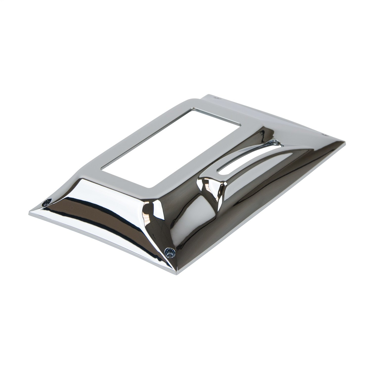B/&M 81027 Chrome Plastic Cover for Quicksilver Shifter