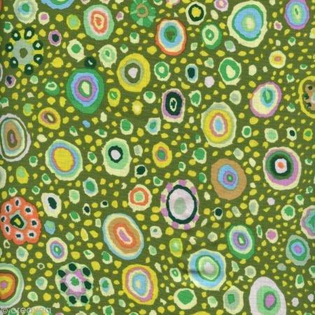 (FreeSpirit Fabrics Kaffe Fasset Collective Roman Glass Leafy Fabric By The Yard )