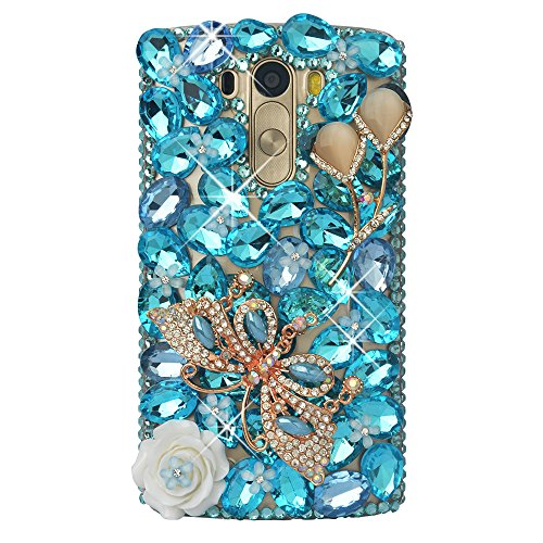 Case Spritech Handmade Colorful Butterfly Decoration