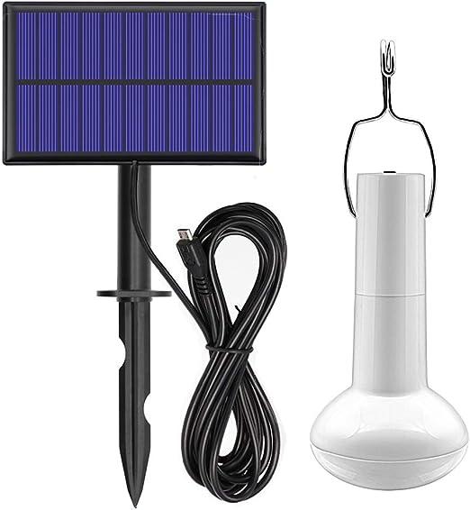 GreeSuit - Foco LED portátil con Panel Solar para Exteriores ...