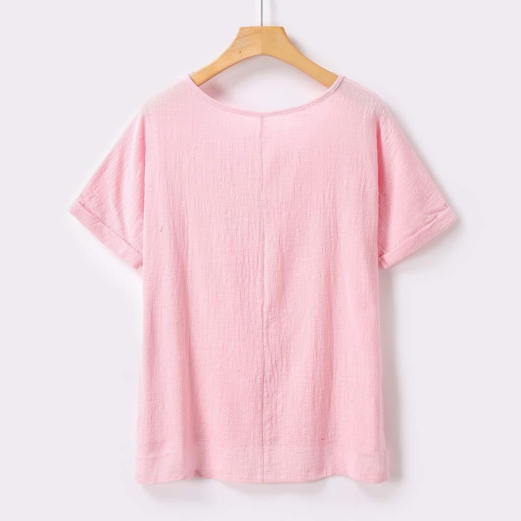 Amazon.com: Bummyo - Camiseta de manga corta de algodón y ...