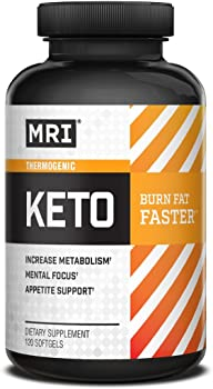 MRI Performance Keto 120-Count Thermogenic Softgels