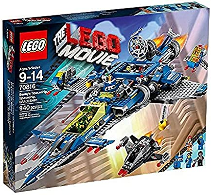 LEGO NEW BENNY MINIFIGURE FROM THE LEGO MOVIE SET 70816 BENNYS SPACESHIP