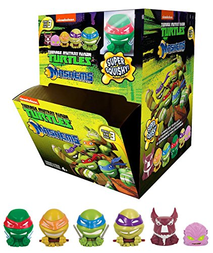 Tech4Kids Teenage Mutant Ninja Turtle Mash'ems (1 random figure) (Blue Ninja Turtle Name)