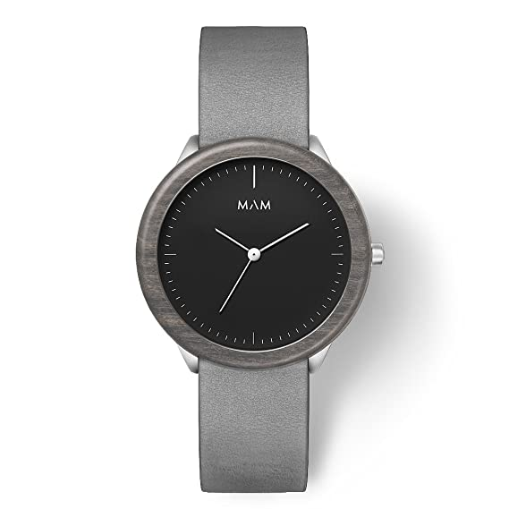 MAM Originals · Stainless Dark Maple Graphite | Reloj de Hombre | Diseño Minimalista | Creado
