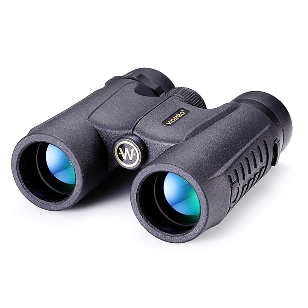 双眼鏡超広角高出力望遠鏡高精細暗視望遠鏡屋外クライミング望遠鏡 (Color : Black, Size : 14 * 12 * 4cm) B07FVMMCXS  Black 14*12*4cm