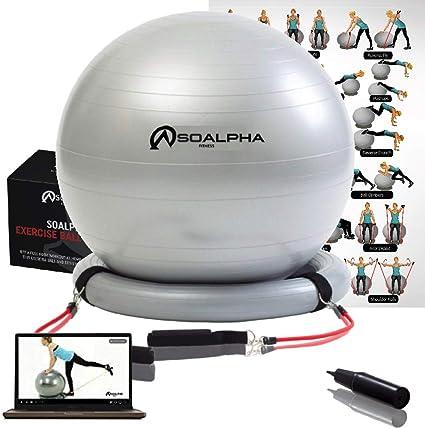 SoAlpha Bandes Mise /à Niveau de r/ésistance dentra/înement pour Votre Faisceau de Ballon dexercice si Alpha