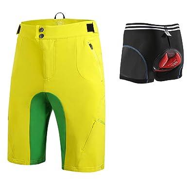 Amazon.com: Pantalones cortos de ciclismo + ropa interior de ...
