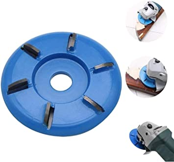6 Teeth Wood Working Carving Disc Milling Cutter For 16mm Aperture Angle Grinder