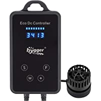hygger Quiet Magnetic Aquarium Powerhead, 1600GPH DC 12V Wave Maker with Digital Led Display Controller, Submersible…
