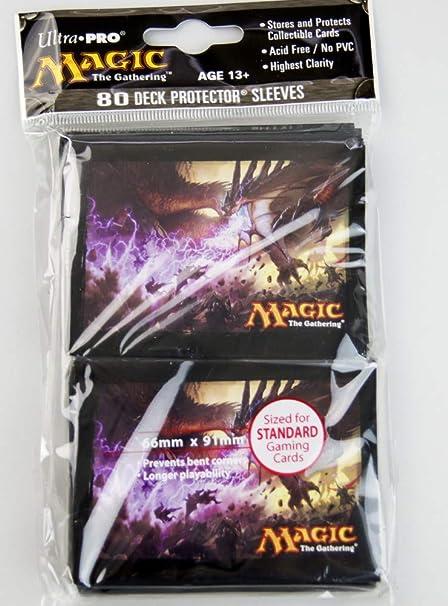 Deckbox V3 80 Dragons of Tarkir Sleeves MtG Magic TCG Ultra Pro Bundle