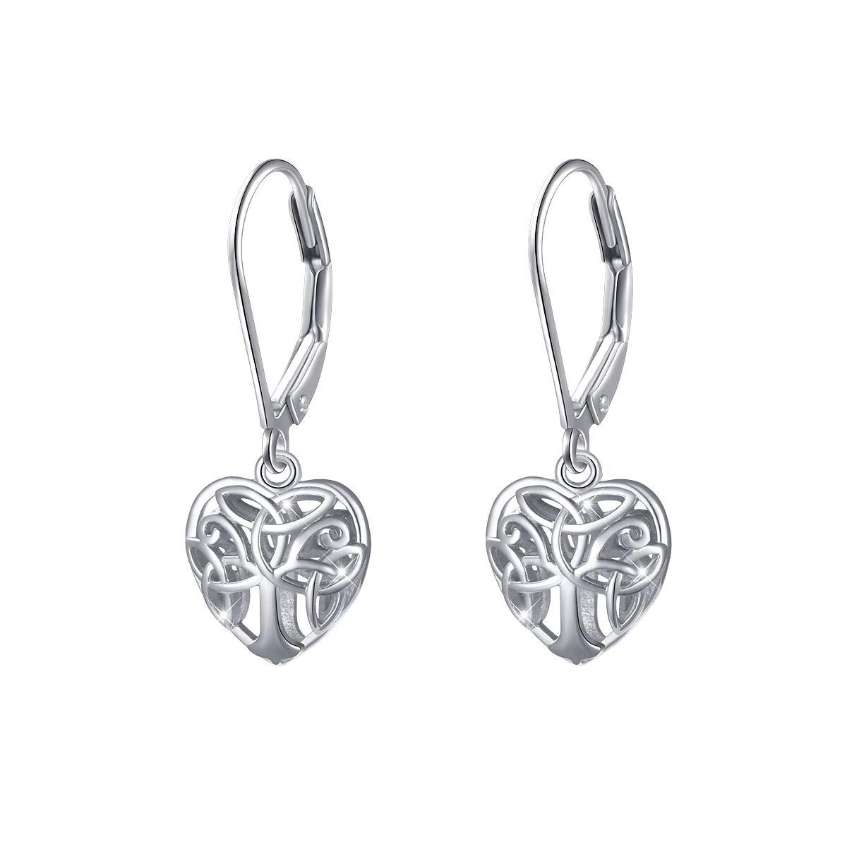 S925 Sterling Silver Dangle Drop Stud Earrings for Women Girl Gift ALPHM Jewelry Factory JE4307-Y