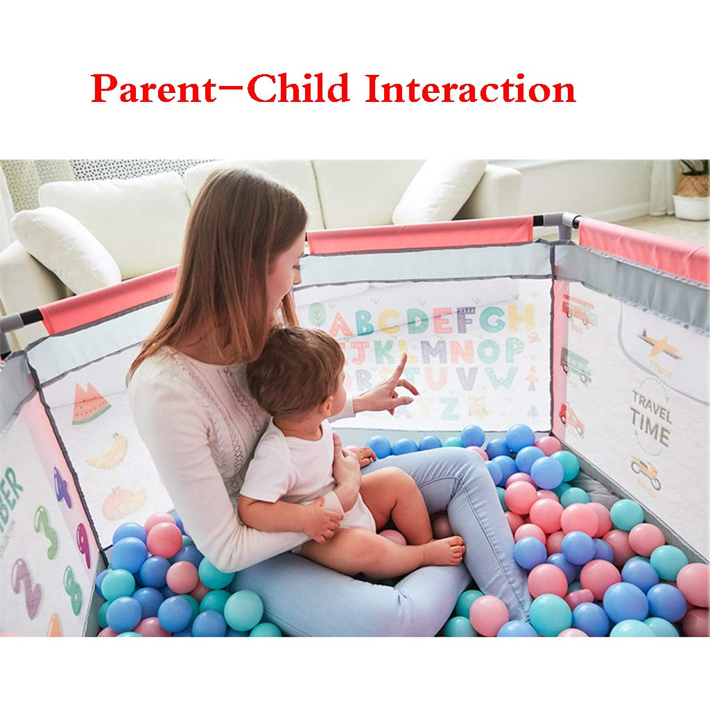 SONGTING Guardrail Bed Rail Safety Bedrail with Ventilated Mesh for Children Game Fence Infant Child Home Baby Crawling Mat Toddler Safety Protection Indoor Paradise Marine Ball Pool by SONGTING Guardrail (Image #4)