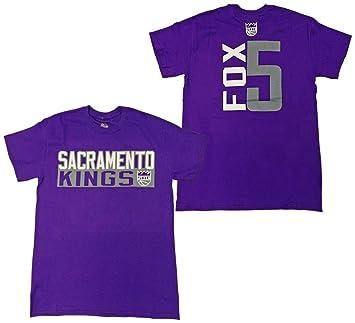 the latest d860f 135be Amazon.com : Majestic De'Aaron Fox Sacramento Kings Purple ...