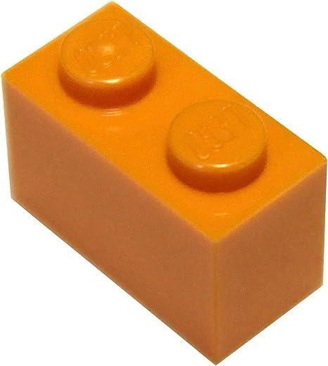 New LEGO Lot of 10 Tan 1x2 Building Brick Pieces
