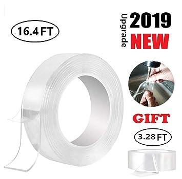 Amazon.com: Rollo de cinta adhesiva transparente de Bobocawa ...