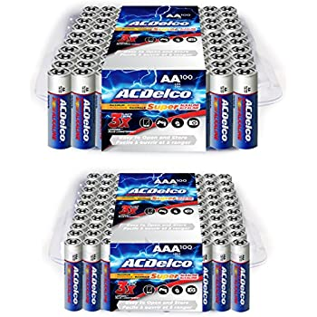 Amazon.com: ACDelco AA Batteries, Alkaline Battery, 40