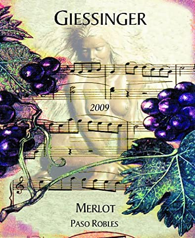 2009 Giessinger Merlot Reserve, Paso Robles 750 mL - Reserve Merlot Red Wine