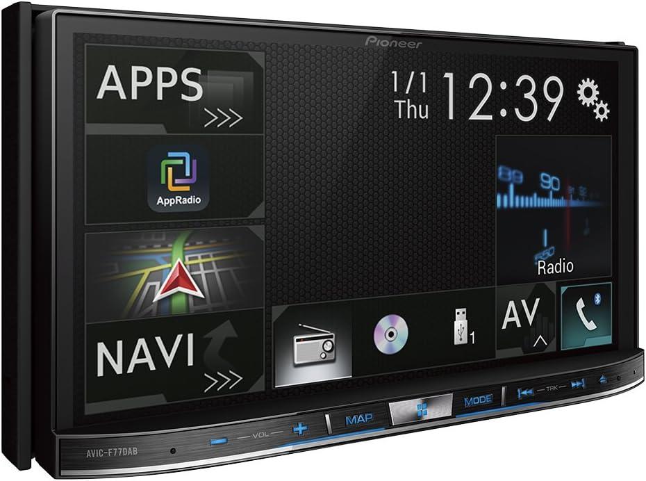 Pioneer AVIC-F77DAB - Sistema de navegación GPS 2 DIN con Pantalla capacitiva de 7