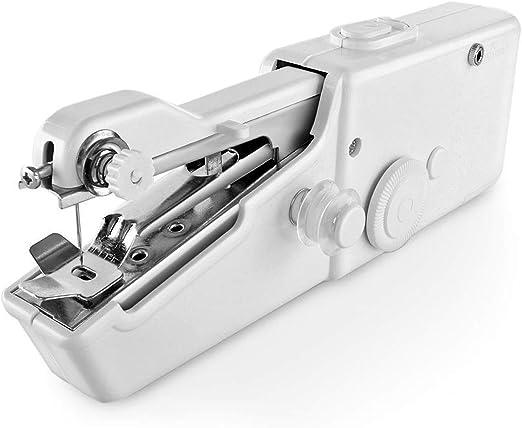 Famyfamy Mini Portátil Máquina de Coser, Mini Portátil Hogar ...