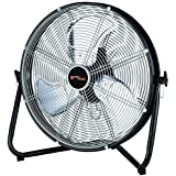 Utilitech Pro 20-Inch 3-Speed High Velocity Indoor Portable Fan