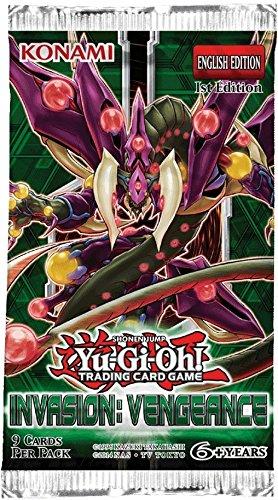 Vengeance Booster Pack 1st Ed Konami SG/_B01M67HMQE/_US Yu-Gi-Oh 1x Invasion