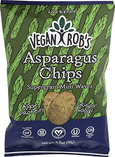 VEGANROBS CHIPS RICE ASPARAGUS 3.5OZ