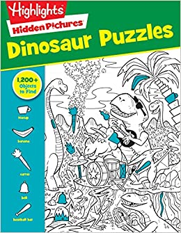 Dinosaur Puzzles Highlightstm Hidden Pictures Highlights