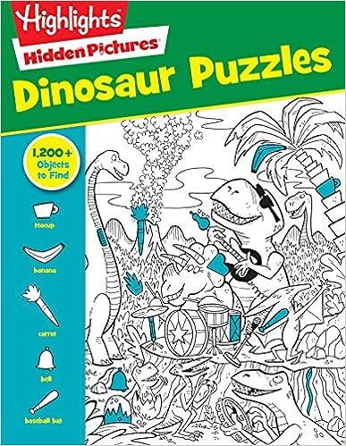 Descargar Pdf Gratis Dinosaur Puzzles Highlights Tm Hidden
