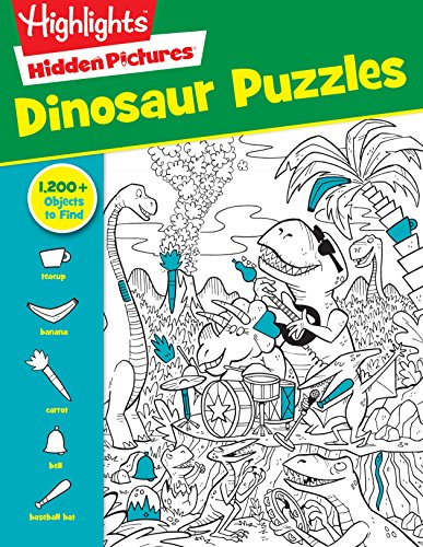 Dinosaur Puzzles (HighlightsTM  Hidden Pictures®)
