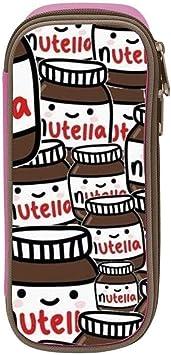 Estuche para lápices de tumblr Nutella para niños, bolígrafo para escuela, oficina, suministros de cosméticos: Amazon.es: Oficina y papelería