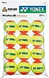 ヨネックス(YONEX) 硬式テニス ジュニア用 (7歳~11歳) テニスボール マッスルパワーボール30 (1ダース12個入り) TMP30