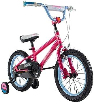 WJJ Bicicletas Bicicleta niño varón y Hembra los Deportes de Cochecito de bebé Bicicleta de Seguridad de protección del Medio Ambiente exquisitas Bicicleta de los niños con estabilizador: Amazon.es: Juguetes y juegos