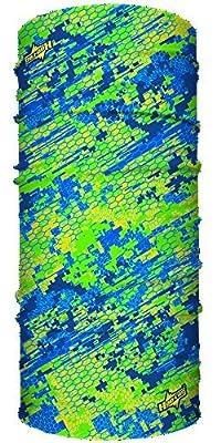 Digital Camo Seamless UPF 30 High Performance Moisture Wicking Bandana Made of 100% Polyester Microfiber by Hoo-rag®