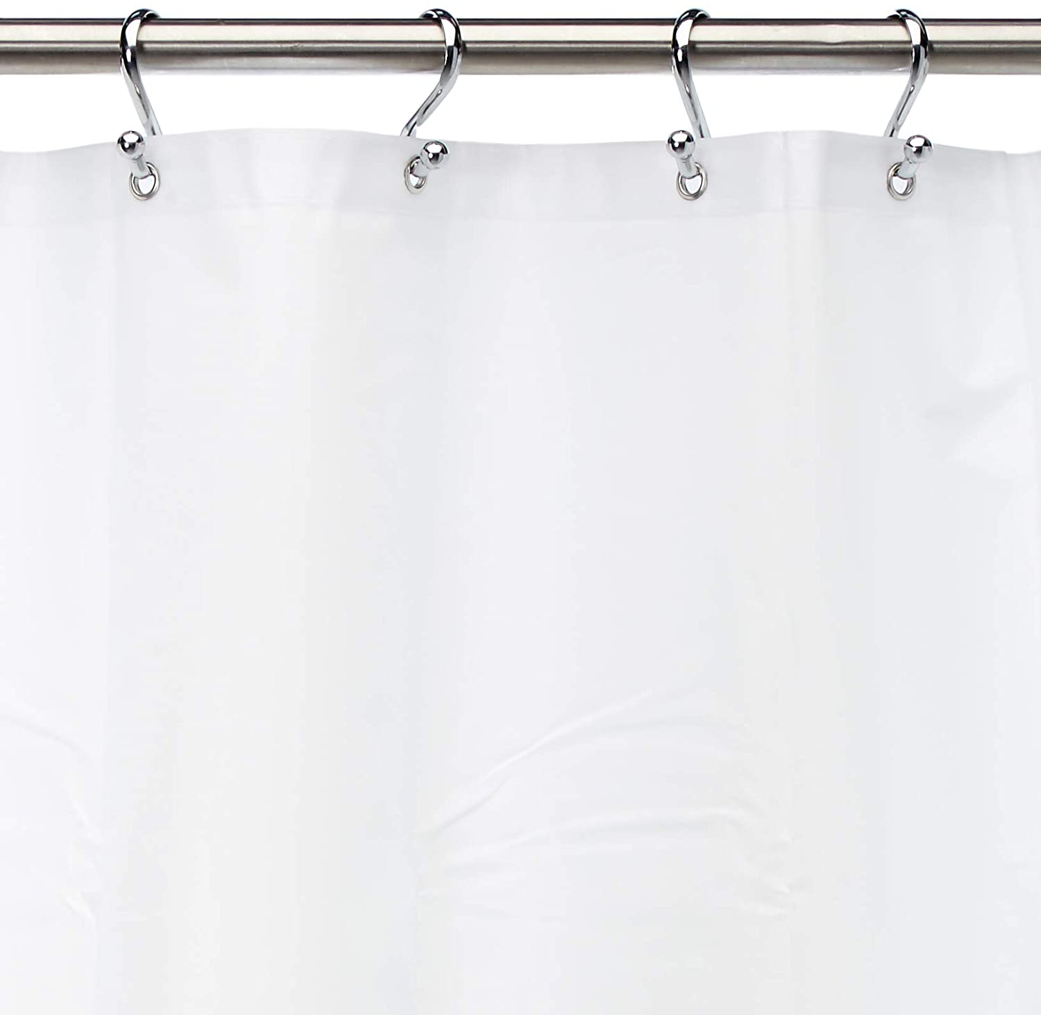 Amazon Carnation Home Fashions 10 Gauge PEVA 72 By 84 Inch Shower Curtain Liner X Long White Kitchen