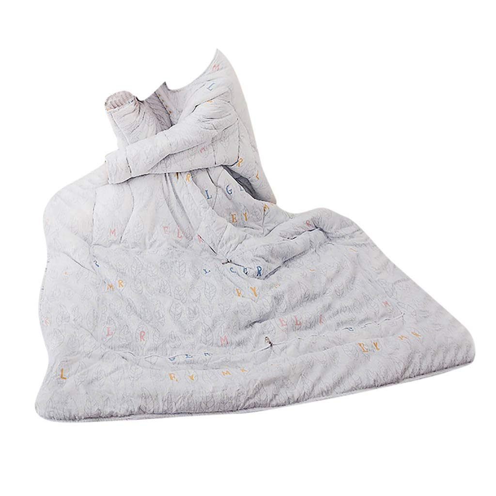 FTXJ Multifunction Winter Lazy Quilt with Sleeves Warm Thickened Washed Pillow Blanke by FTXJ_Home Tool (Image #1)