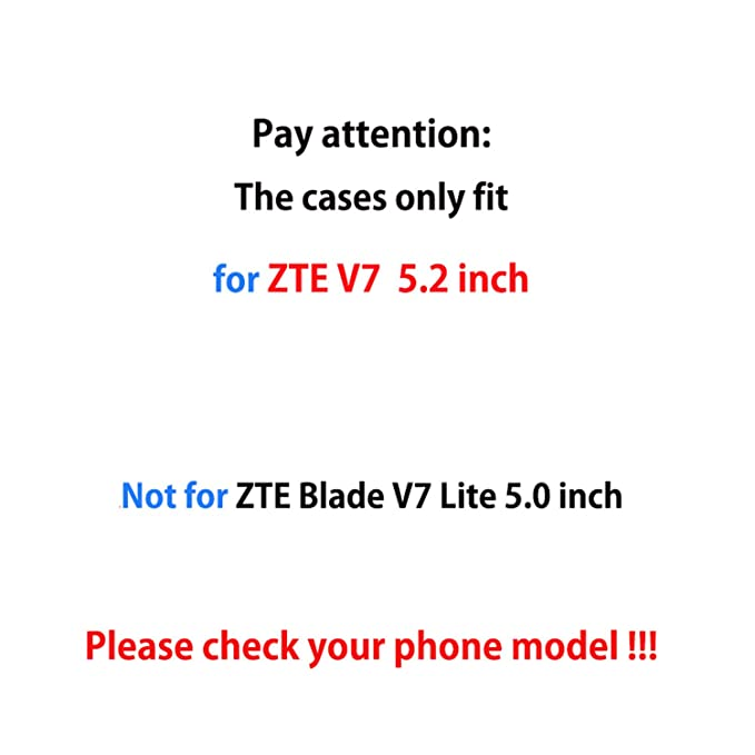 Amazon.com: Pattern TPU Soft For Blade V7 5.2 Inch Mobile ...