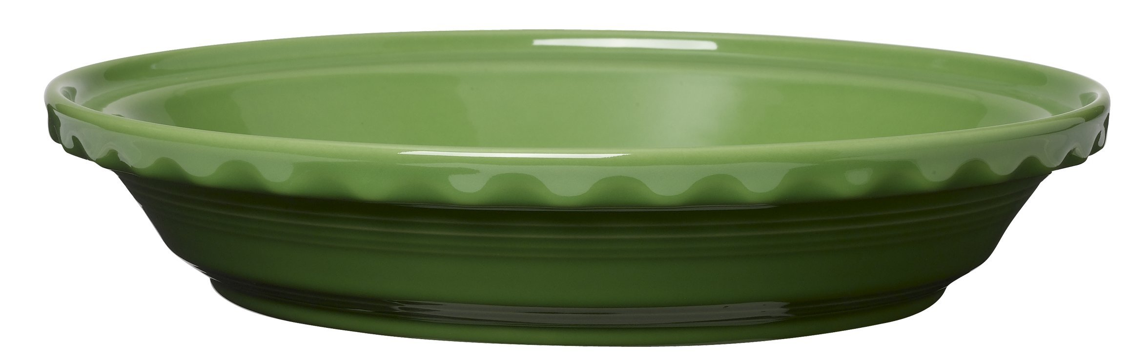 Fiesta 10-1/4-Inch Deep Dish Pie Baker, Shamrock by Homer Laughlin (Image #1)