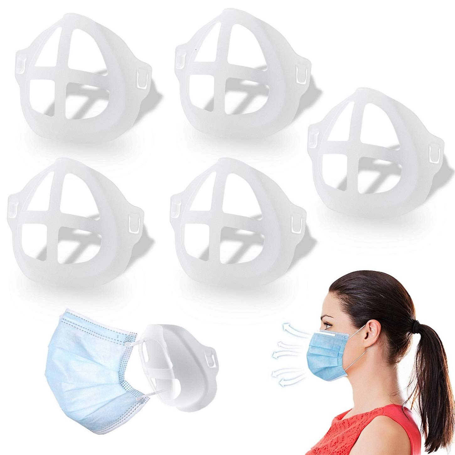 Face Mask Brackets Are the Hot New Accessory to Make Your Mask More Comfortable 61sJTqJFPWL._SL1450_