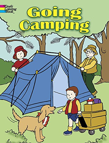 Camping Coloring Book makes fun camping activities kids love and adults will too to keep from being bored with fun camping ideas for kids